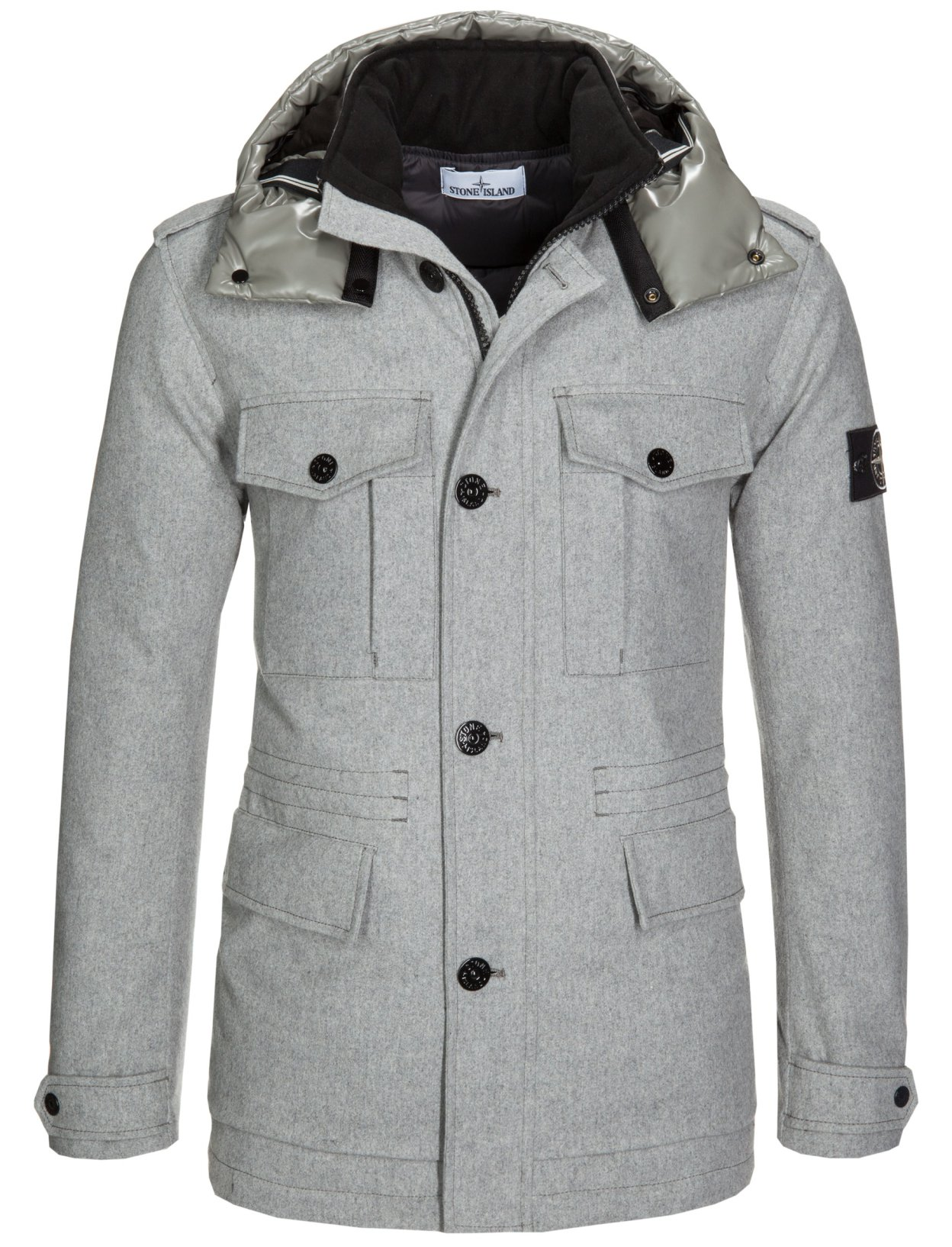 Stone Island Soft Shell: Stock Stone Island: Clothing, Shoes, Accessories, Bags